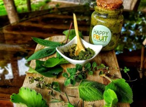 Salsa Pesto Finca Happy Fruit