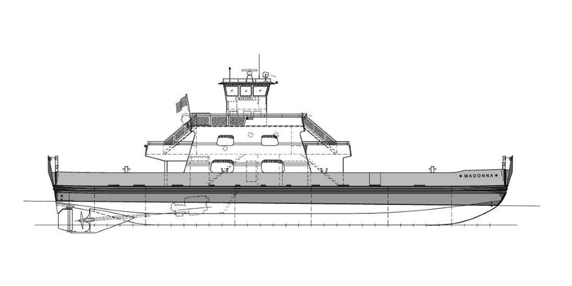 Fincantieri Bay Shipbuilding To Build New Ferry For