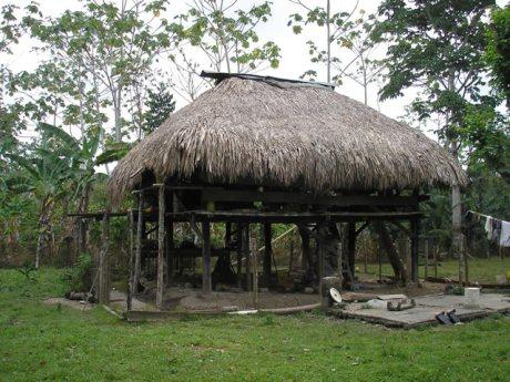 Native house at Rio Chico