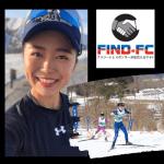 全日本選手権で優勝し世界選手権やオリンピック出場を目指すクロスカントリースキー・宮崎 日香里(ミヤザキ ヒカリ)選手がFind-FCにアスリート登録!