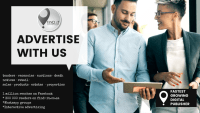 Advertise ANYTHING with us  and reach 300 000 readers