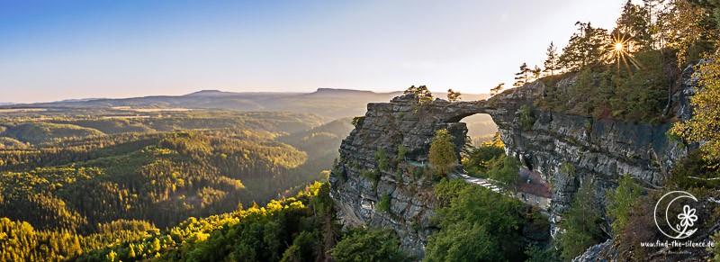Das Prebischtor im Elbsandsteingebirge