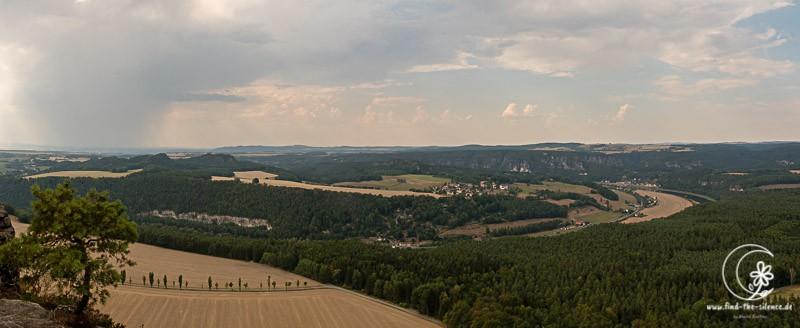 Blick vom Lilienstein