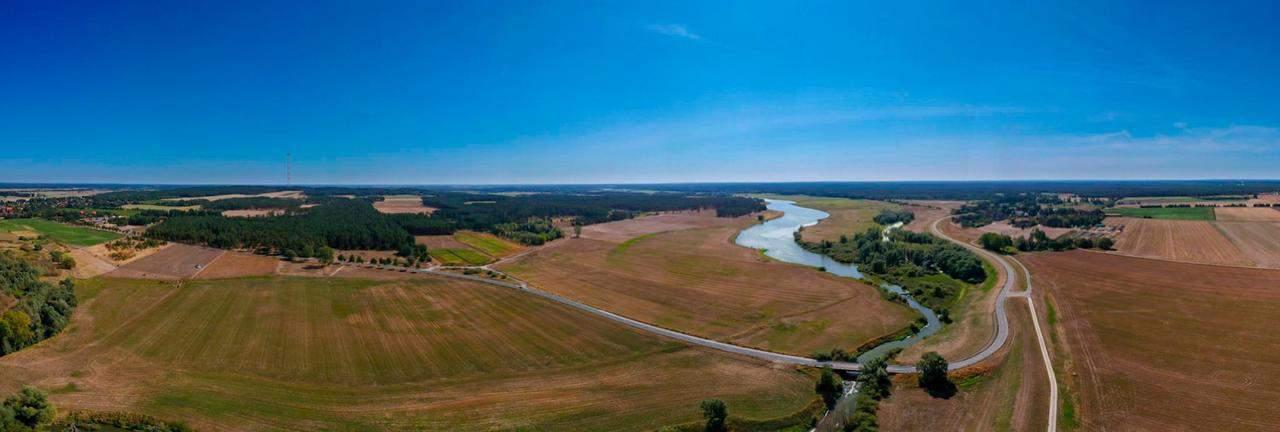 Dronenbild Ursprungtal Elbe