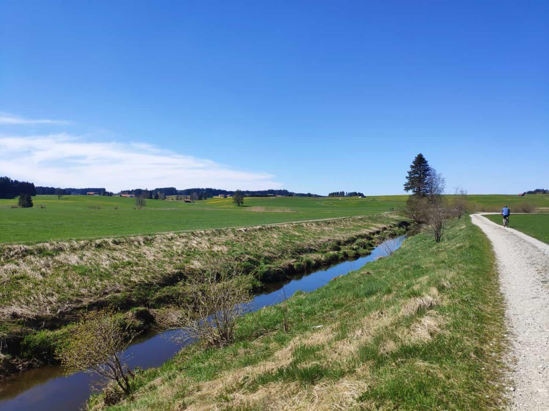 Am Kanal am Moor-Erlebnis-Weg