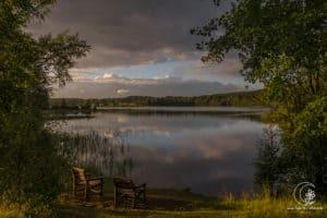 Frei stehen in Schweden... Mein Blick aus dem WoMo