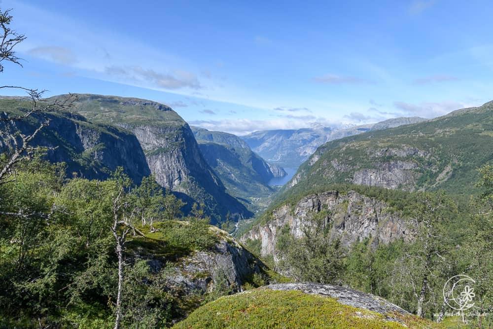 Blick auf den Eidfjord