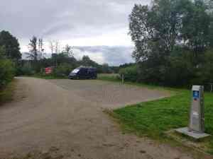 Stellplatz in Mernes