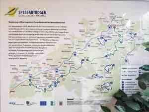 Stellplatz Mernes - Infos für Wanderer und Radfahrer gleich am Platz