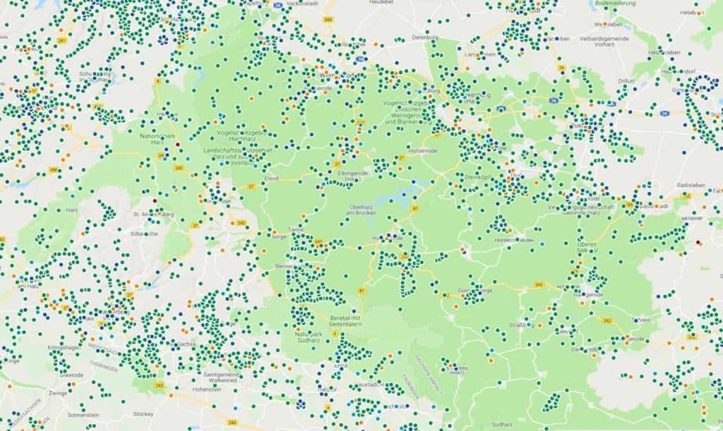 GC Karte Harz