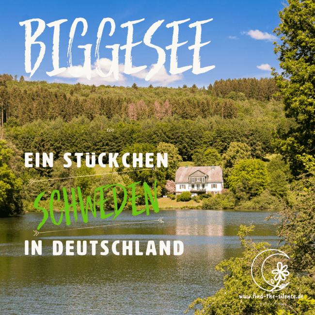 Biggesee - ein StückchenSchweden in Deutschland