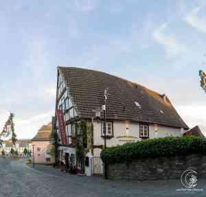 Historischer Biergarten