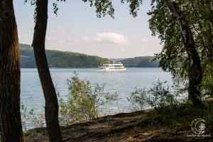 Schiffsverkehr von Ostern bis Herbst