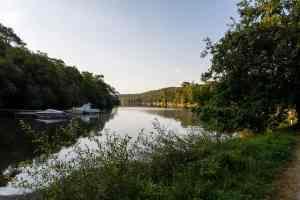 Seitenarm des Lac
