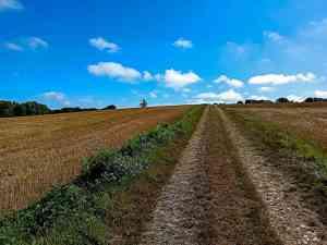einsame Wanderwege ums Kloster