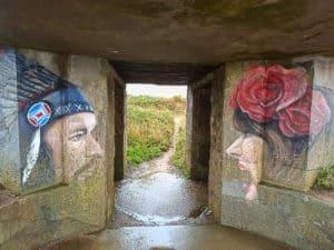 Ein Künstler-Bunker am GR34