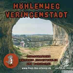 Auf dem Höhlenrundweg Veringenstadt