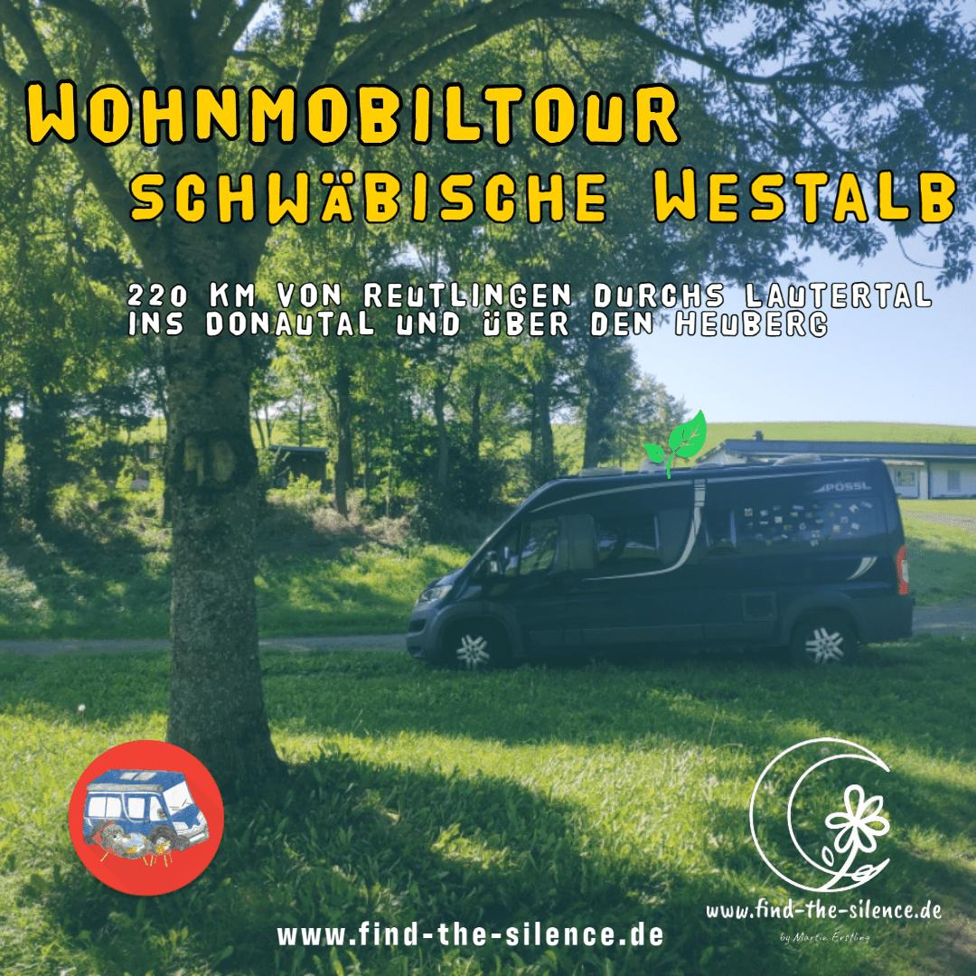 Wohnmobiltour Schwäbische Westalb