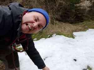 Ich liebe Schnee :-)