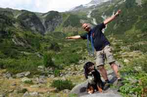 In den österreichischen Alpen
