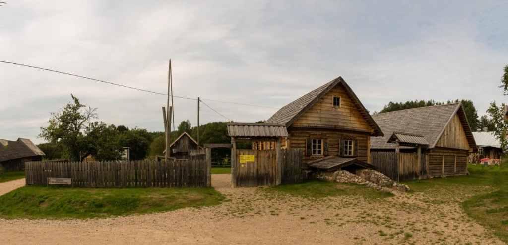 Das Freilichtmuseum Slutiski