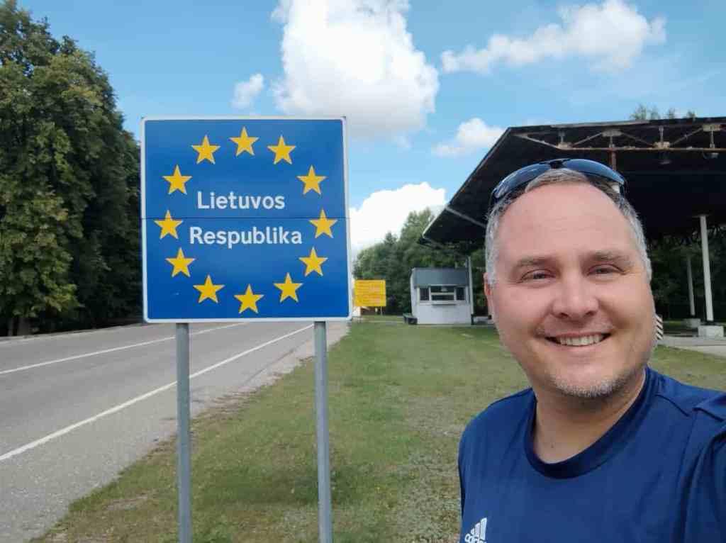Ankunft im Baltikum