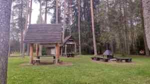 Der Campingplatz am Start des Weges