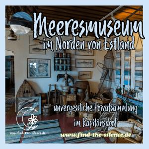 Das Meeresmuseum in Käsmu