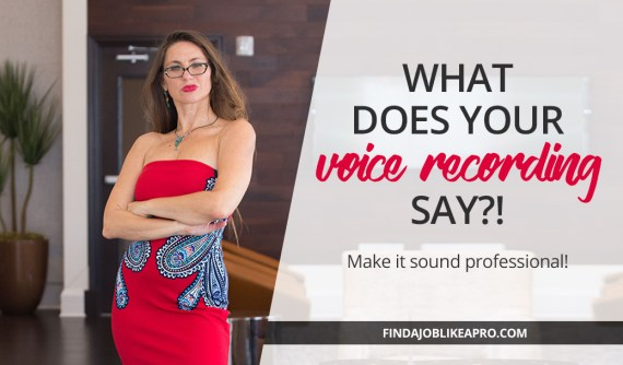Does your voicemail sound professional enough to get hired?