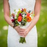 bouquet bride writing vows- blog post