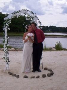Mike & Helene (my first wedding)