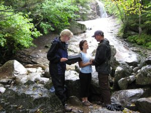 Colleen & Eric at Bridal Veil Falls with JP Jeanne Pounder