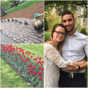 Boston Public Garden!