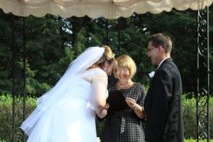 Wickham Park, where laughter should be part of the ceremony
