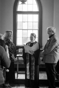 Lori & Ed wed in a beautiful little chapel in New Milford