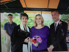 Keith and Theresa married in West Hartford