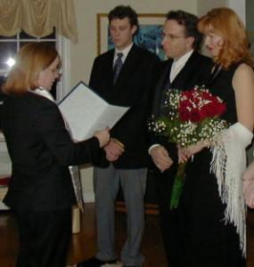 Jack and Lyuba Camarda, Weston CT 1/22/2005