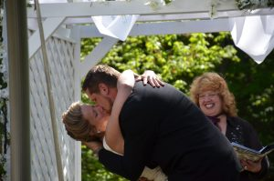 You may now kiss your bride!!