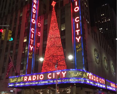 radio city music hall christmas in hew york
