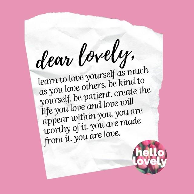 stay single lovely letter
