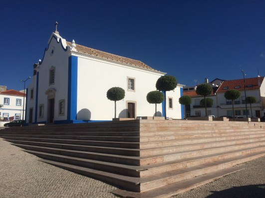 Ericeira church square