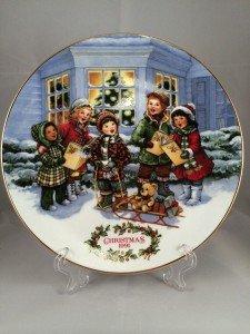 1991 Avon Christmas Plate