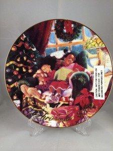 2000 Avon Christmas Plate - African American