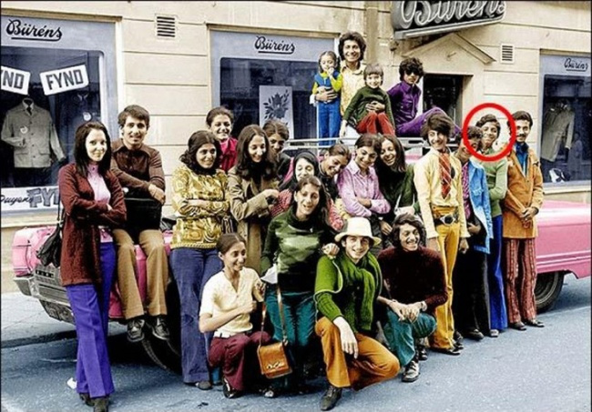 Osama Bin Laden and his Family vacation in Sweden 1970