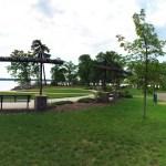 Diamond Park Overlooking Lake Bemidji Minnesota