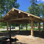 New Pavillion in Cameron Park Bemidji Minnesota