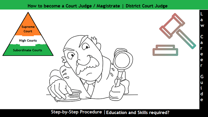How to become a Court judge