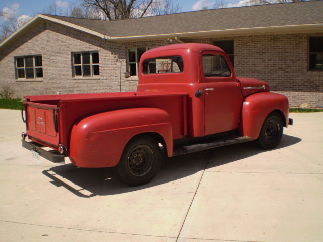 Ford Other Pickups 1951 Red For Sale. F1R1HM49523 1951