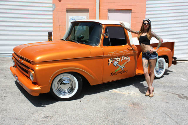 Ford F100 pick up 1961 Orange For Sale 1961 Ford F100