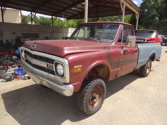 1969 3 4 Ton Chevy Truck